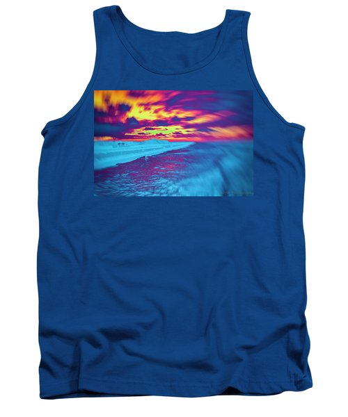 Psychedelic Sunset Tank Top