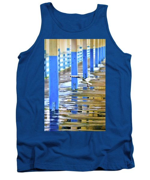 Tank Top featuring the photograph Puddles by Diana Angstadt