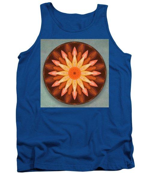 Pumpkin Mandala -  Tank Top