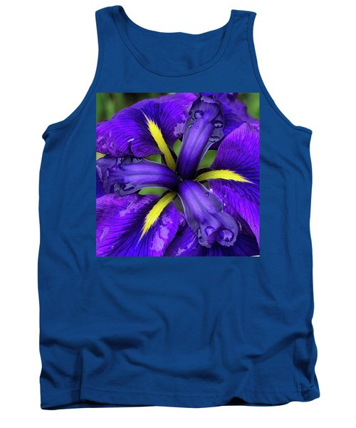 Purple Iris Centre Tank Top
