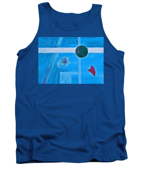 Purposphere Gone Blue Tank Top