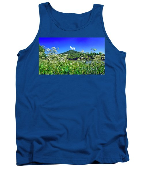 Queen Anne's Lace, Peaks Of Otter  Tank Top
