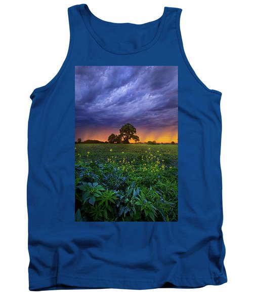 Quietly Drifting By Tank Top