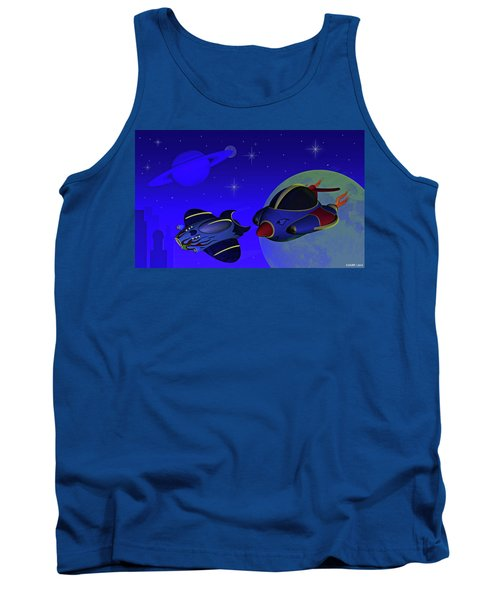 Race Thru Space Tank Top