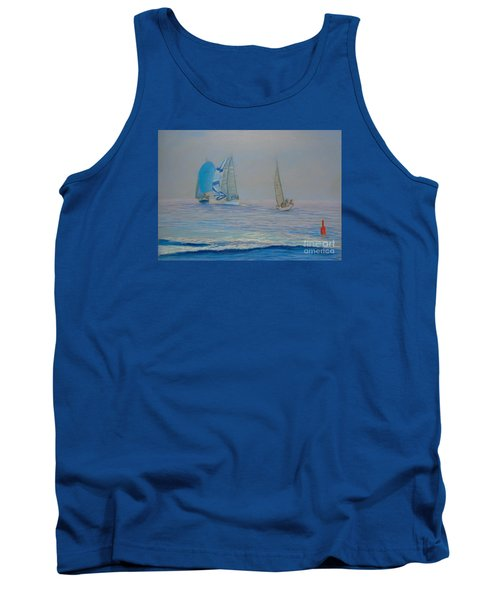 Raceing In The Fog Tank Top