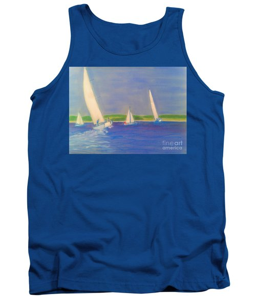Racing Off Chester Tank Top by Rae  Smith