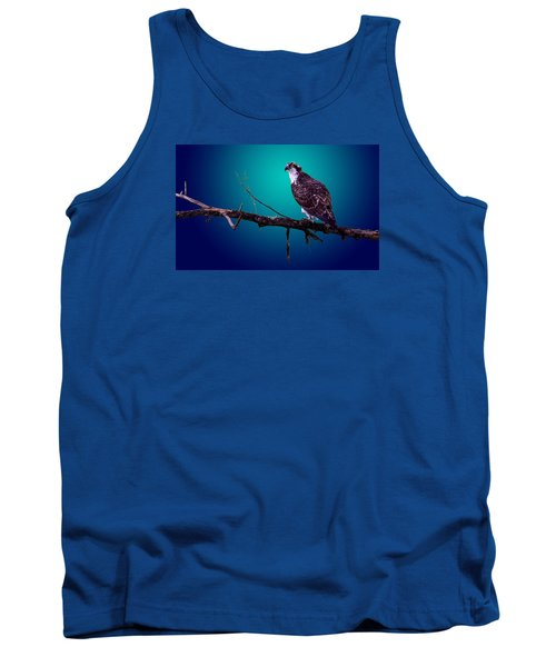 Tank Top featuring the photograph Radiant Raptor by Brian Stevens