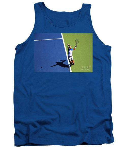 Rafeal Nadal Tennis Serve Tank Top