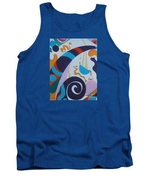 Rainbow And Pot Of Gold Tank Top