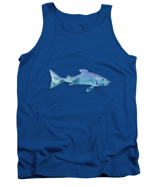 Rainbow Trout Tank Top by Mikael Jenei