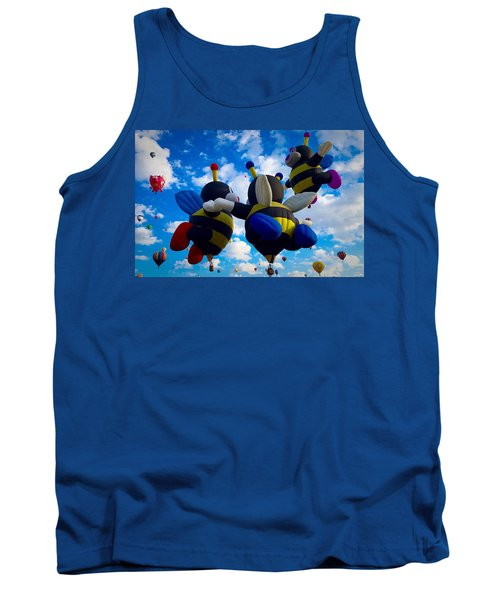 Hot Air Balloon Cheerleaders Tank Top