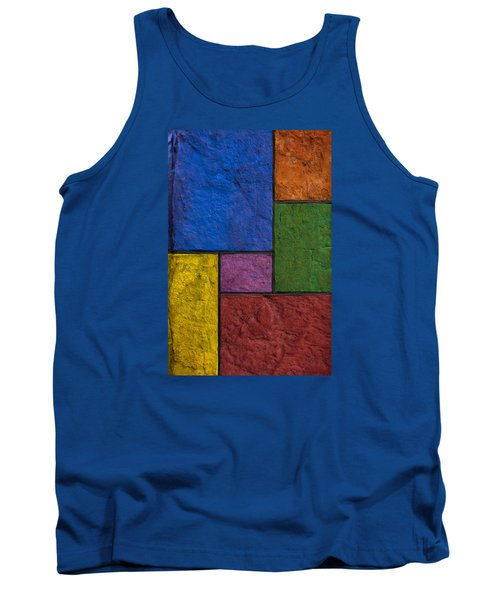 Rectangles Tank Top by Don Gradner