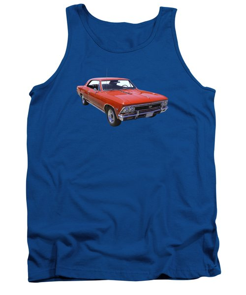 Red 1966 Chevy Chevelle Ss 396 Tank Top