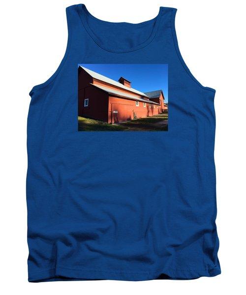 Red Barn, Blue Sky Tank Top
