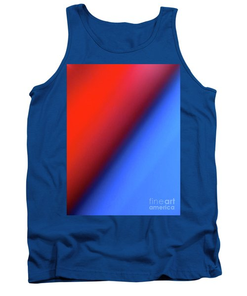 Tank Top featuring the photograph Red Blue by CML Brown
