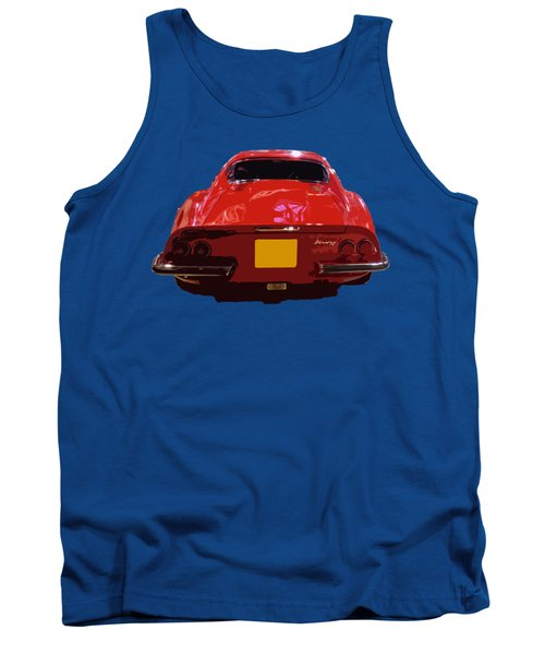 Red Classic Emd Tank Top