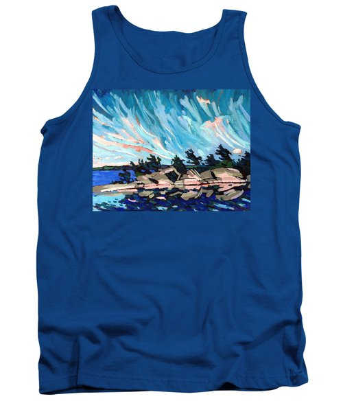 Red Horse Cirrus Tank Top