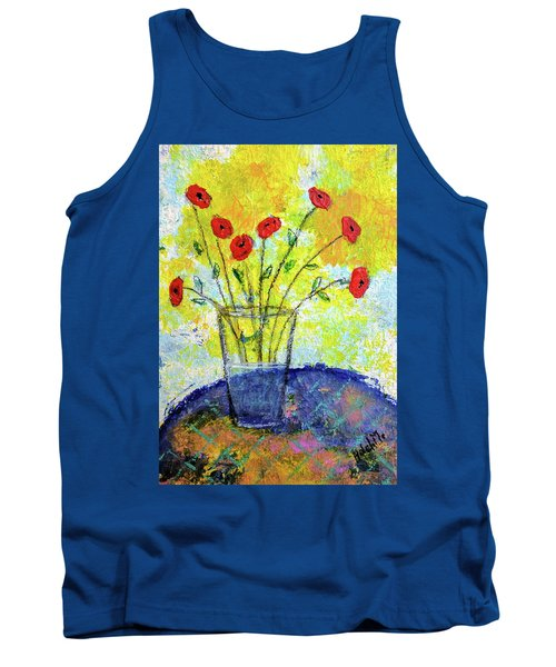 Red Roses For You Tank Top