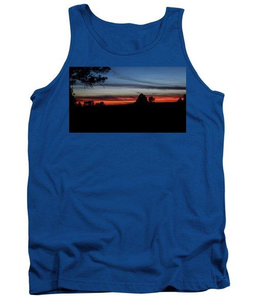 Red Sunset Strip Tank Top