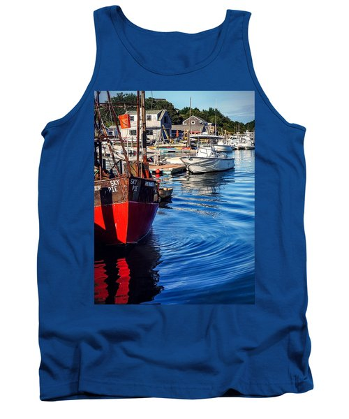 Red White Blue Tank Top