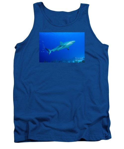 Tank Top featuring the photograph Out Of The Blue by Aaron Whittemore