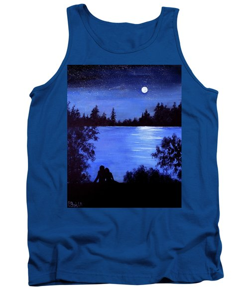 Reflection By The Water Tank Top