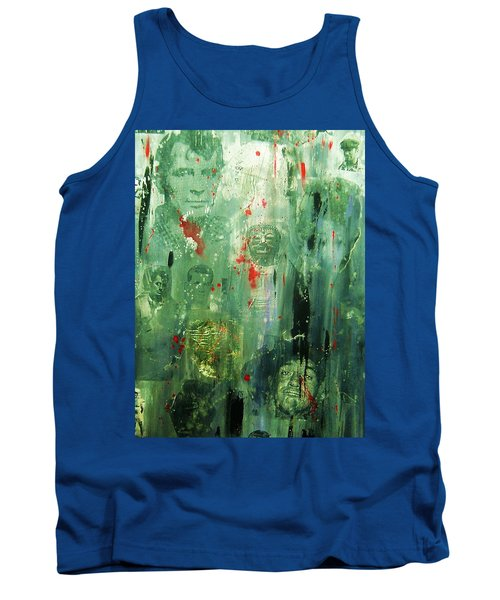 Remembering Kerouac Tank Top by Roberto Prusso