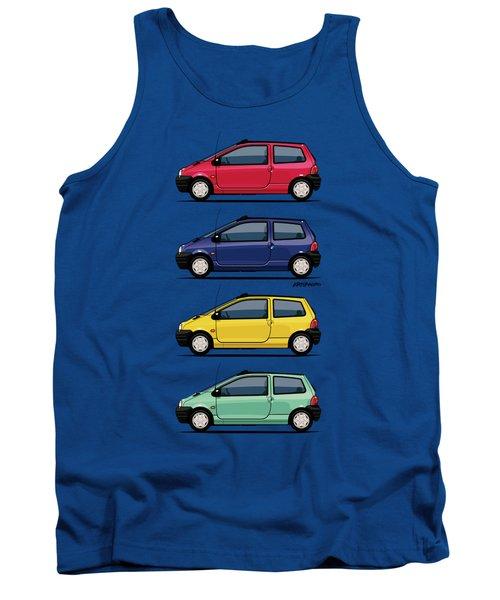 Renault Twingo 90s Colors Quartet Tank Top