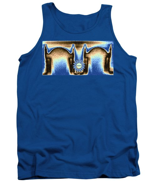 Tank Top featuring the mixed media Reserved by Will Borden