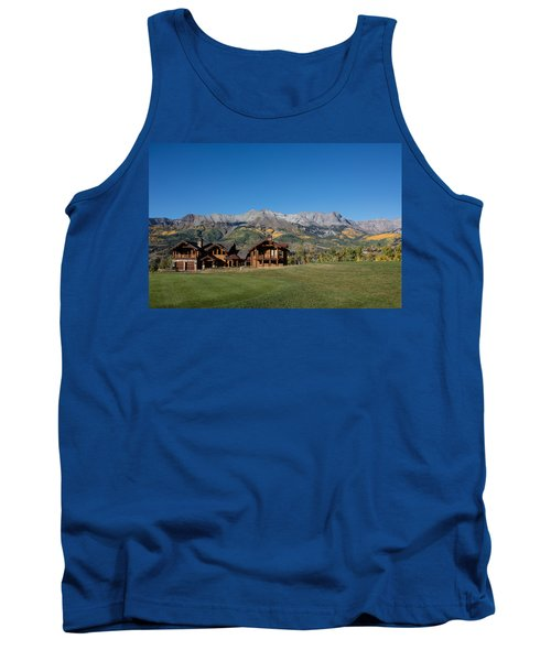 Residences In Mountain Village -- A Planned Community Adjacent To Telluride Tank Top by Carol M Highsmith