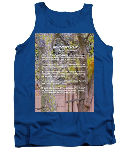 Reverence Of Trees Tank Top