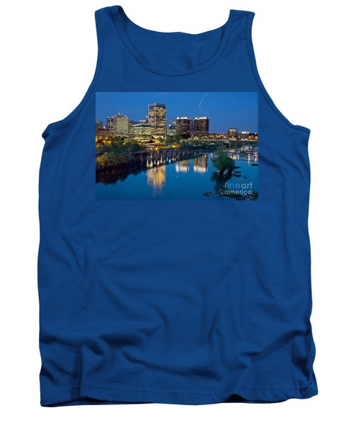 Richmond Skyline Helo Trail Tank Top