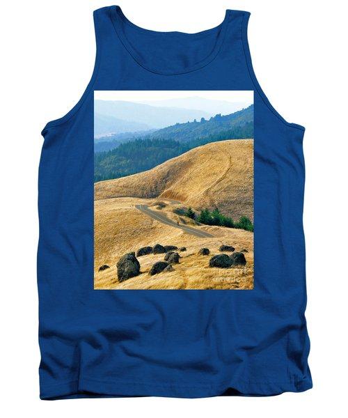 Riding The Mountain Tank Top