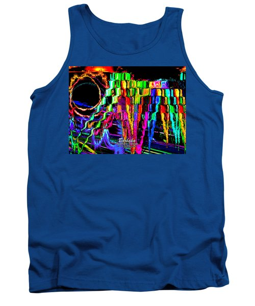 Tank Top featuring the photograph Rings Of Fire by Barbara Tristan