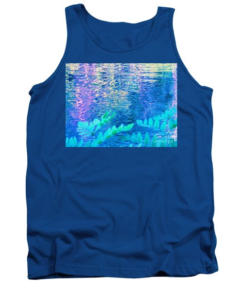 Distractions From The River Waters Tank Top