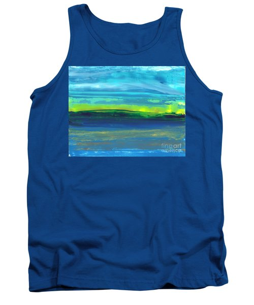 Riverbank Green Tank Top