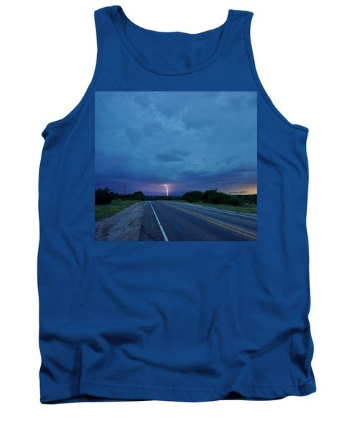 Lightning Over Sonora Tank Top by Ed Sweeney