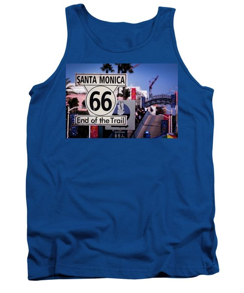Route 66 End Of Trail Tank Top