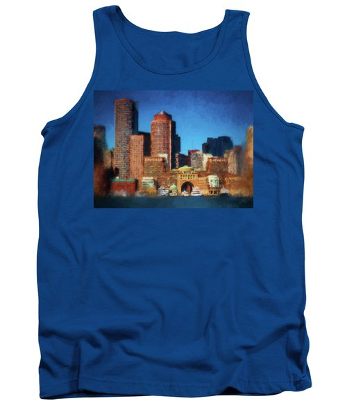 Rowes Wharf Boston Tank Top