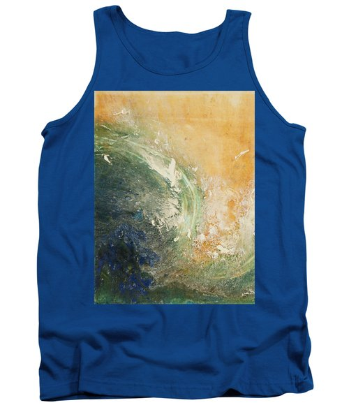 Rugged Coast Aerial View Tank Top
