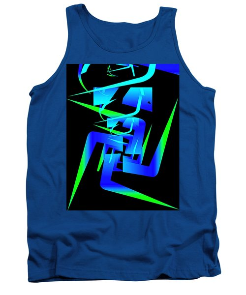 Running Man Tank Top