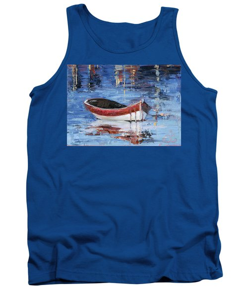 Rusty Brown Blues Tank Top