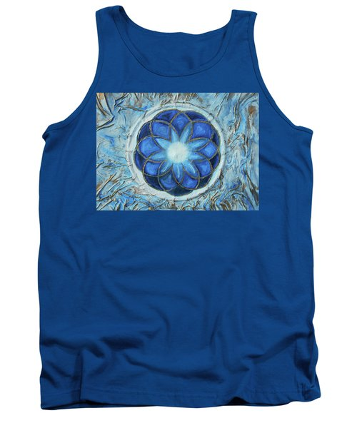 Sacred Geometry Tank Top by Angela Stout