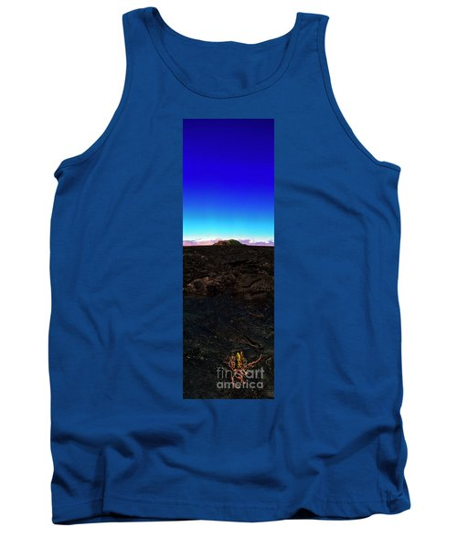 Saddle Road Humuula Lava Field Big Island Hawaii  Tank Top