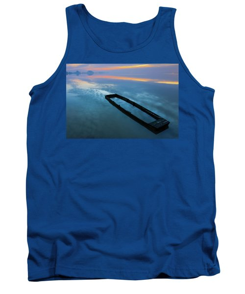 Sailing In The Sky Tank Top