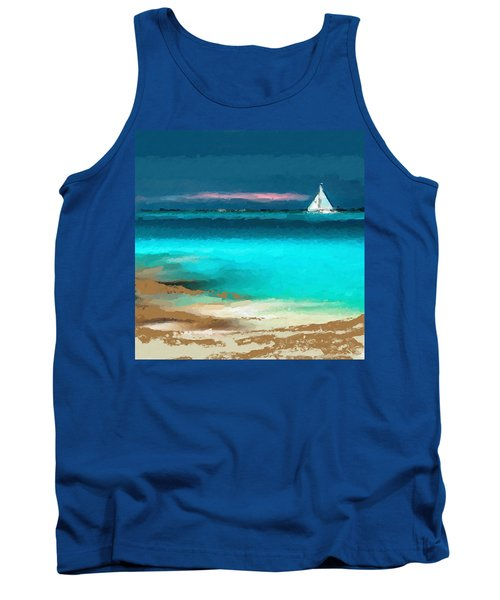 Sailing Just Offshore Tank Top