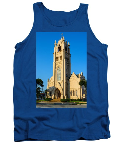 Saint Patrick Catholic Church Of Galveston Tank Top by Tikvah's Hope