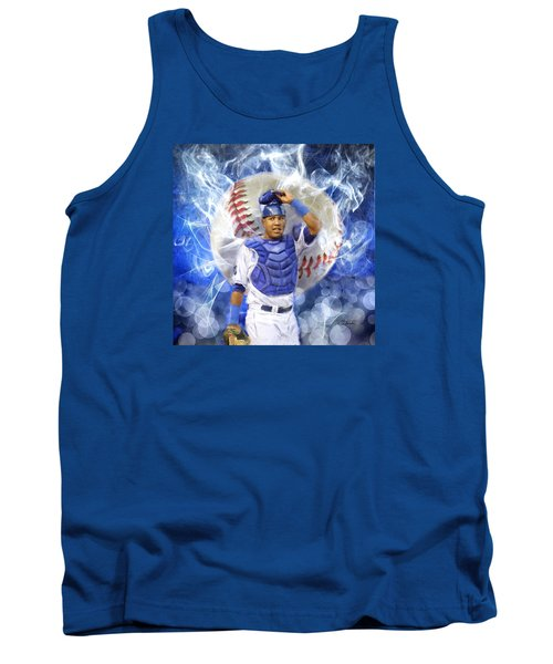 Salvy The Mvp Tank Top by Colleen Taylor
