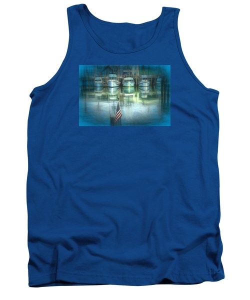 San Francisco Pier Tank Top by Michael Cleere