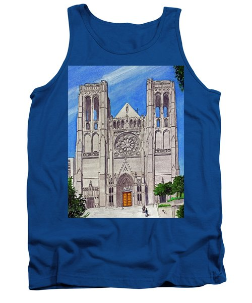 San Francisco's Grace Cathedral Tank Top